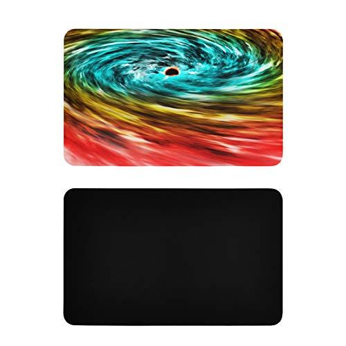 Cubiertas cuadradas para imanes para lavavajillas Black Hole Space Cosmos Whirlpool Particles Nebula Imanes para lavavajillas Cubierta Decorativa Imanes de Cocina de PVC Personalizados Accesorios DIV
