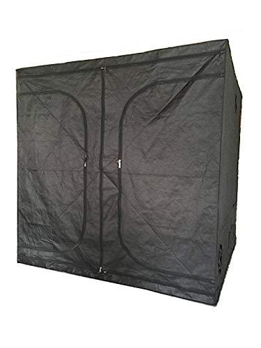 SavingPlus Indoor Grow Light Box Tent Aluminum lined Bud Dark Room for Hydroponic Fan 200X200X200CM