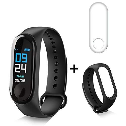 Xiao Huang li Smartwatch/polshorloge met hartslagmonitor/bloeddrukmeting/multifunctioneel/stappenteller/waterdicht/zwart, blauw, wit, rood