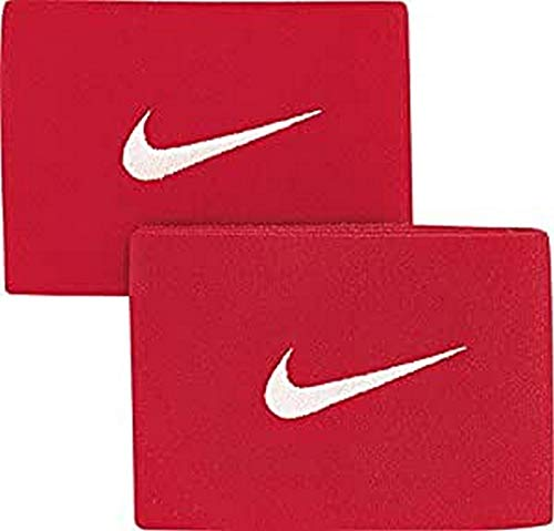 Nike Herren Schienbeinschonerhalter Guard Stay II, University Red/White, One Size