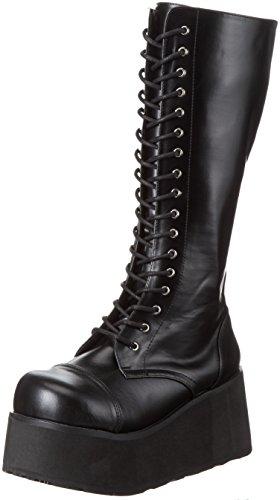 Demonia by Pleaser Men's Trashville-502 Lace-Up Boot,Black PU,9 M US