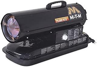 Mi-T-M MH-0075-0M10 Kerosene Forced Air Space Heater, 75000 BTU
