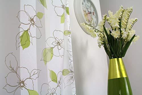 Home Textiles Mendola 10–237playla 02Tenda Layla 140x 245cm, Colore: Verde