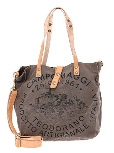 Campomaggi Shopping Bag S V.Militare + Naturale + St.Nera