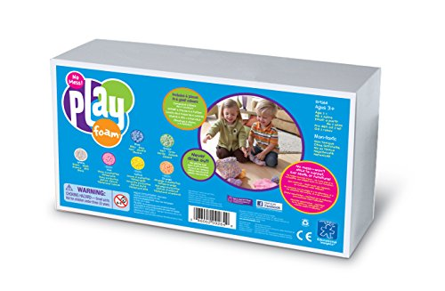 Learning Resources Playfoam Kügelchenknete mit 6 Farben,