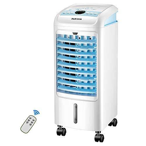 Fans -CivilWea Befeuchtungs- und Kühlventilator, Hausklimaanlage, beweglicher Klimagebläseventilator, Windgeschwindigkeit mit DREI Geschwindigkeiten, stummer
