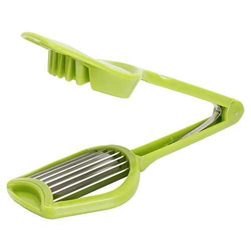 Cortador de hongos, herramienta para cortar huevos, herramienta para cortar frutas, cortador de huevos, divisor portátil de hongos y kiwis, herramienta para cortar verduras y frutas, utensilios de coc