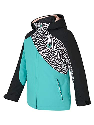 Ziener Mädchen Abella jun Skijacke, Winterjacke, Mermaid Green, 128 (XS)
