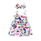 Comie - Falda de tul, falda para niña, falda de bebé, falda de tul, falda de ballet, falda de ballet, falda de ballet, manga corta, vestido de baile, tutú Blanco 5 años