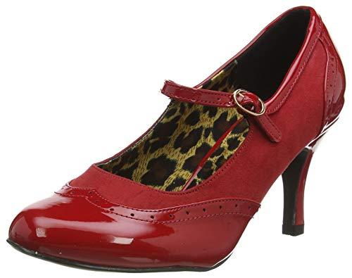Joe Browns Damen Louisiana Patent Shoes Mary Jane Schuh, Red, 21 EU