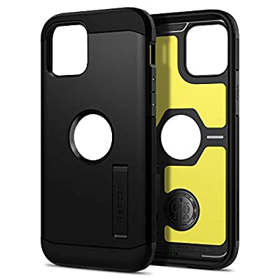 Spigen Tough Armor Designed for iPhone 12 Case (2020) / Designed for iPhone 12 Pro Case (2020) - Black