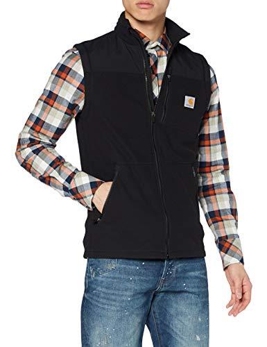 Carhartt Fallon Vest Gilet pullunder, Black, L Uomo