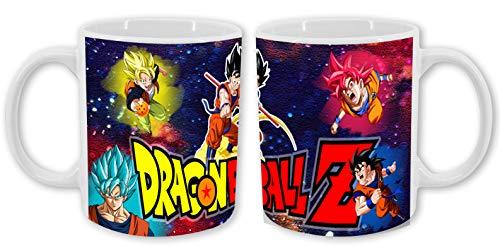 Taza de Dragon Ball Z. Goku. Universo
