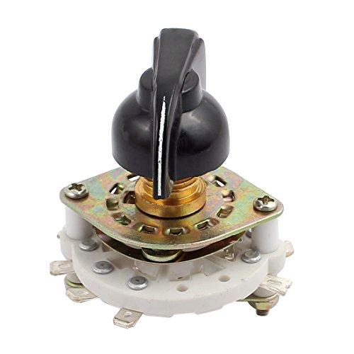 X-DREE KCX 2 polo 3 posición 8 Selector de interruptor rotativo de canal de banda de terminales con tapa (b5d016e1628aa1640b6eae40ca879918)