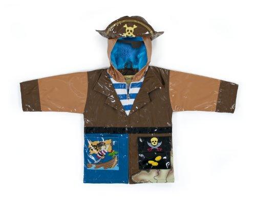 Kidorable Original jongens band, waterdicht, piraat, bruin