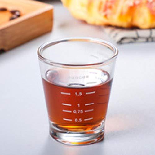 Espresso Coffee Cup Tumbler 70Ml Hittebestendig glas Japanse stijl Geschikt voor thuis, Bedrijf Koffie Gereedschap Espresso Koffie Beker