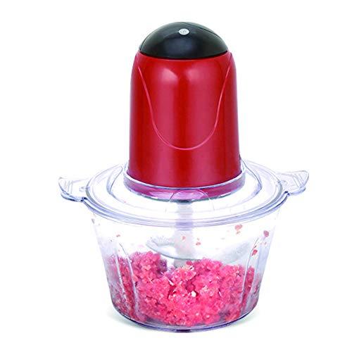 Picadora de carne eléctrica potente automática de 2L Procesador de alimentos multifuncional Picadora eléctrica Cortadora de cortadora de carne Licuadora