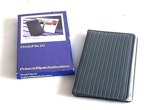 Polaroid PhotoFile 20 Fotoalbum für 20 Sofortbilder
