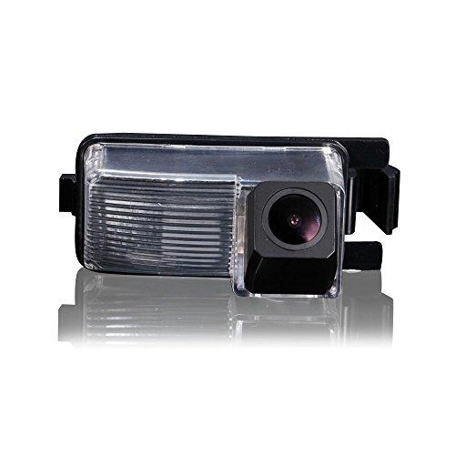 Hdmeu Caméra de Recul Système de Stationnement Rétroviseur avec Caméra de recul sans fil 1080p HD Caméra pour Tiida Lavina Skyline R35 350GT 370z Fairlady