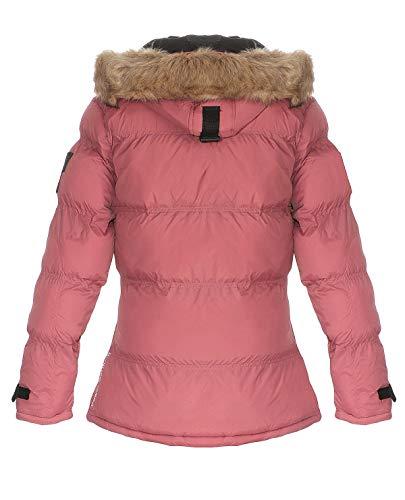 Geographical Norway BONAPART Chaqueta acolchada de invierno para mujer rosa XL