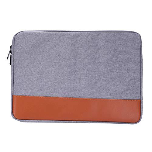 Fauge 14-15,4 Zoll Hülse Laptop Fall Für Air Pro Ultrabook Notebook Tablet Computer Tragbare Weiche Rei?Verschluss Tasche Für (Grau)