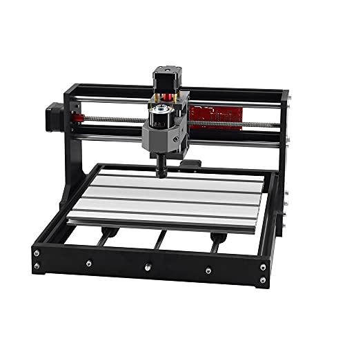 Twotrees Upgrade CNC 3018 Pro Laser Graviermaschine DIY Engraving Machine Laser GRBL Control CNC Wood Cutting Machine 3 Axis Milling Machine,GRBL Steuerung DIY Mini CNC Maschine 3D Graviermaschine