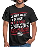 Spreadshirt Musculation À La Salle T-Shirt Homme