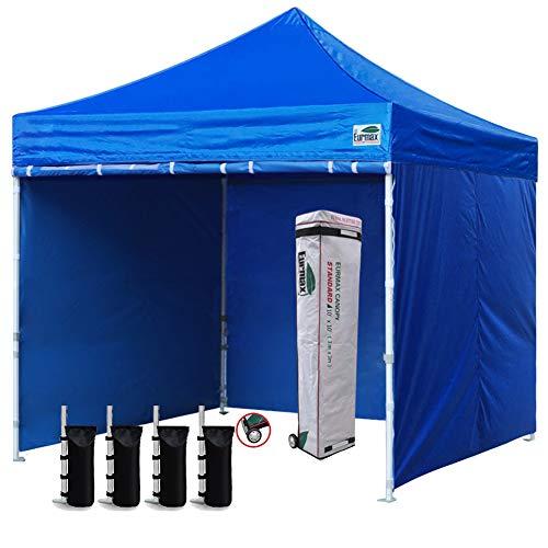 Eurmax A- 2 A-111 Ez Pop Up Canopy Tent, deep Sky Blue