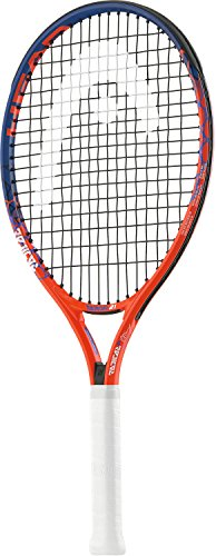 Head Junior Radical - Raqueta de Tenis, Color Naranja/Azul,...