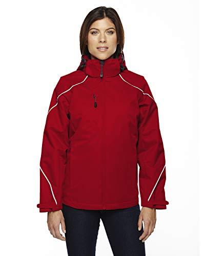 North End Angle de pour Femme Winter Veste 3 en 1 avec Doublure Polaire Manteau de Neige - Rouge - X-Small