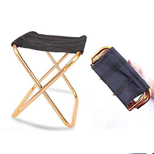 GYZ Tabouret de Camping en Plein air, Tabouret Pliant pour étudiant d'art Portable, Tabouret de pêche, Petit Banc de File d'attente de Voyages Chaise de Camping (Color : B1)