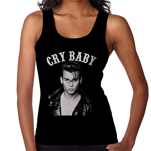 Cry Baby Johnny Depp Portrait Women's Vest
