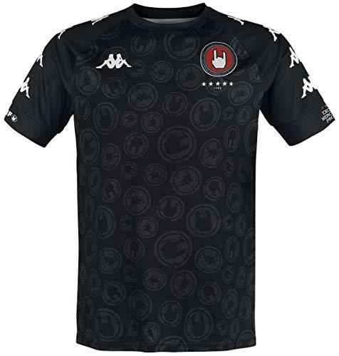 EMP Basic Collection EMP X Kappa - Schwarzes Sport-Trikot Mujer Camiseta Negro M