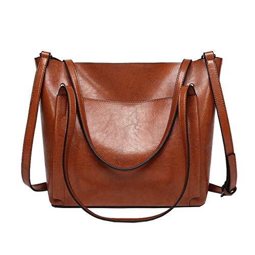 ZAQRA Señoras bolsos de cuero de vaca bolsa de cuero de las mujeres bolsos bolso de mensajero mujeres lindo bolso crossbody para las niñas mujeres moda asa superior bolsos