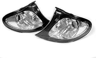 TopPick Corner Lights FOR BMW E46 3-Series 2DR M3 2002-2003 2002-2006 Clear//Chrome 63137165857-63137165858