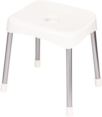 パール金属 風呂 椅子 ワイド 高さ 40cm ホワイト バス スツール スタイルピュア 日本製 HB-1255