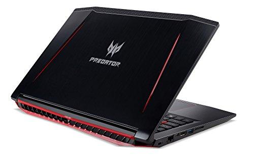 Acer Predator Helios 300 Gaming Laptop, 15.6 Full HD IPS, Intel i7 CPU, 16GB DDR4 RAM, 256GB SSD, GeForce GTX 1060-6GB, VR Ready, Red Backlit KB, Metal Chassis, Windows 10 64-bit, G3-571-77QK