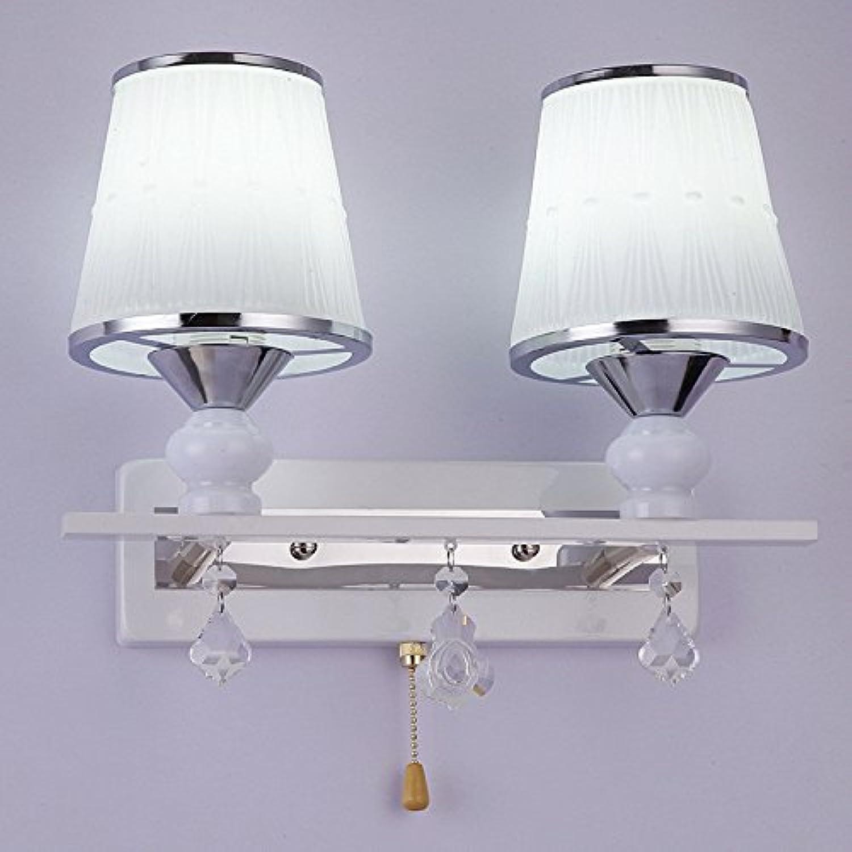 StiefelU LED Wandleuchte nach oben und unten Wandleuchten Led-Wandleuchte Schlafzimmer Bett im Wohnzimmer mit einem channel switch Wandleuchten Dual head Wand