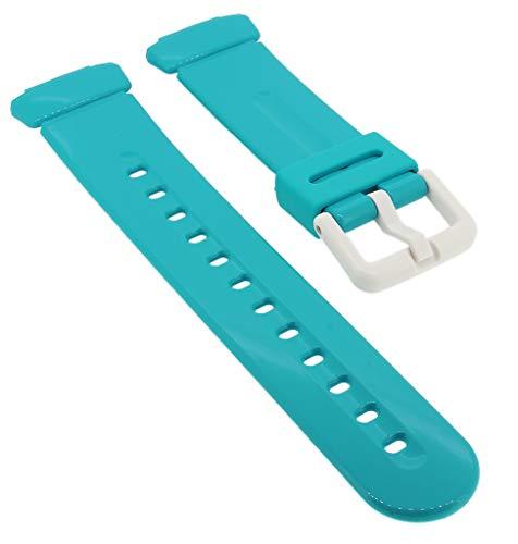 Correa de repuesto para reloj Casio Baby-G de resina azul BG-169R-2BER