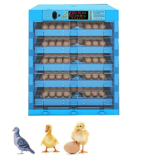 TANGIST Fertilized Duck Eggs Hatching Chicken Hatching Eggs with Automatic Egg Turning & Humidity Control 320 Eggs Poultry Hatcher Machine Incubatorfor Quail Incubator