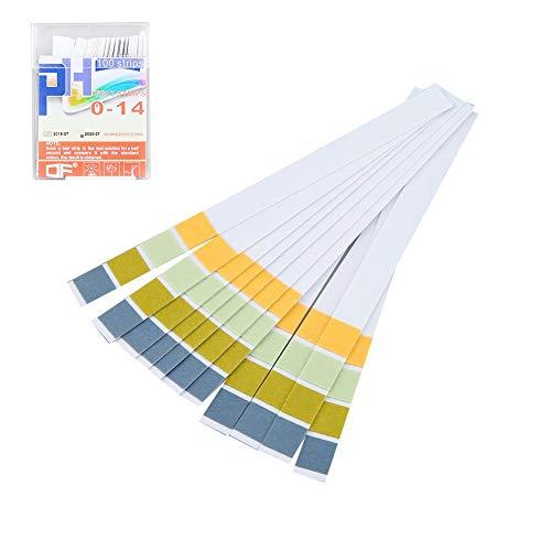 DZWJ 100 Streifen 0-14 PH 4 Farbtestpapier Alkalische Säure Indikator Messrolle Für Wasser Urin Speichel Boden Lackmus Test Messwerkzeuge
