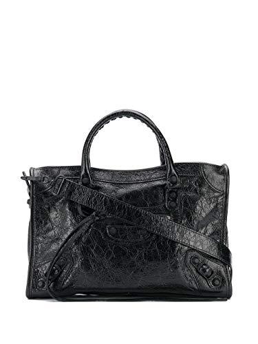 Balenciaga Luxury Fashion Donna 431621D94J71000 Nero Pelle Borsa A Mano   Stagione Permanente