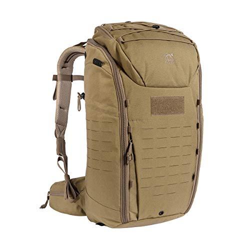 Tasmanian Tiger TT Modular Pack 30 Daypack Wander-Rucksack mit 30 Liter Volumen inkl. Organizer Zusatz-Taschen Set für mehr Ordnung, Khaki