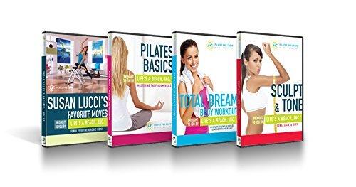 Life's A Beach Pilates PRO Chair 4 DVD Set