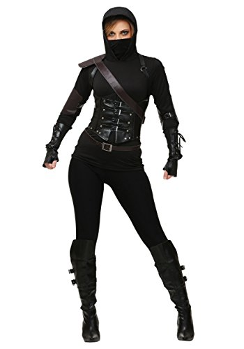 Fun Costumes Ninja Assassin Kostüm für Damen - S