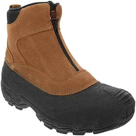 LONDON FOG Mens Holborn Waterproof and Insulated Cold Weather Snow Boot Brown 9 product image
