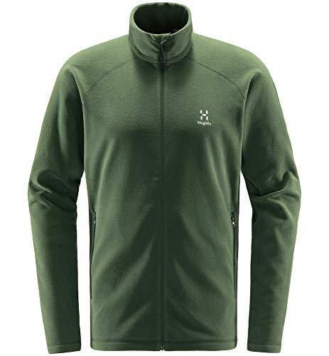 Haglöfs Fleecejacke Herren Fleecejacke Astro Jacket Men wärmend, atmungsaktiv, Stretch beweglich Small Fjell Green M M