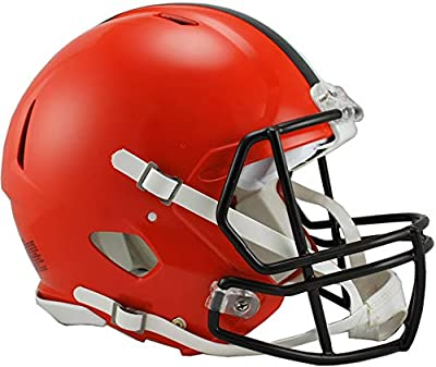 Riddell Cleveland Browns Revolution Speed Full-Size Authentic Football Helmet - NFL Authentic Helmets