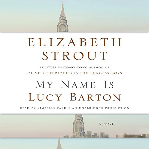 My Name Is Lucy Barton audiobook cover art