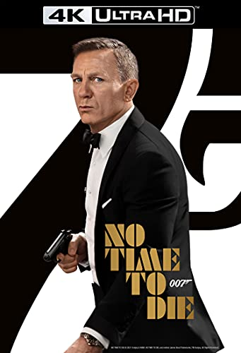 No Time To Die (James Bond) [4K Ultra HD] [2021] [Blu-ray] [Region Free]